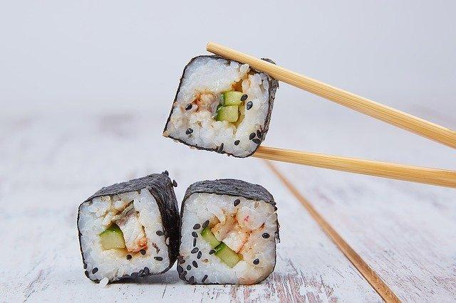 Sushi w kuchni japońskiej